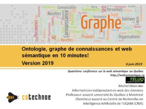 Ontologie, graphe de connaissance et web sémantique en 10 minutes