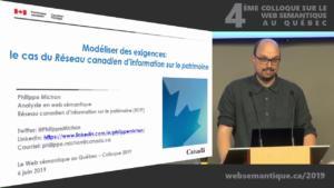 Philippe Michon au Colloque