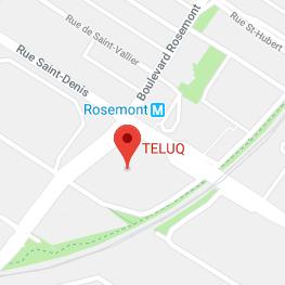 Teluq - Carte de localisation